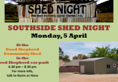 Shed Night April 21 - 850